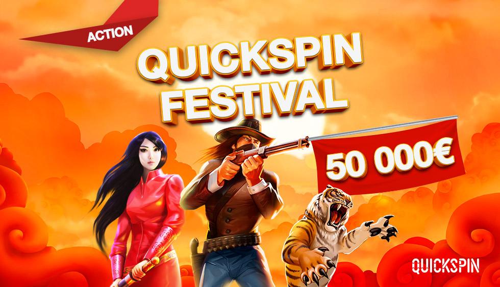 Акция «Фестиваль Quickspin»