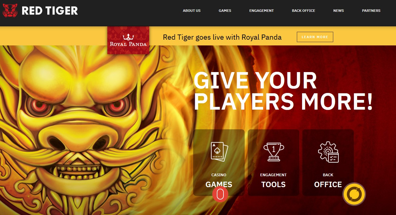 Red-tiger-gaming-home